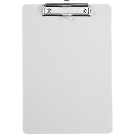 Klemmbrett, DIN A4, Kunststoff, mit Aufhängöse