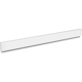 Klemmenstrook Maulgrip, aluminium, B 50 x L 1.000 mm, draagvermogen 4kg/100 cm, papier vanaf 80 g/m²