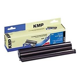 KMP F-B1 - 1 - Schwarz - Farbband (Alternative zu: Brother PC300RF)