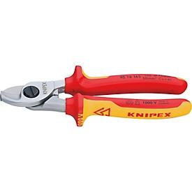 KNIPEX Kabelschere 165 mm VDE isoliert