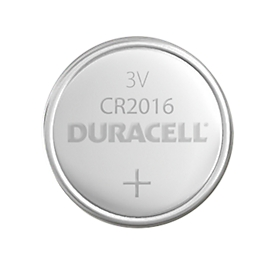 Knopfzelle DURACELL® CR 2016