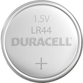 Knopfzelle DURACELL® V13GA, LR44, 2 Stück