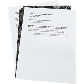 Kohlepapier für Schreibmaschinen, schwarz, DIN A4, 100 Blatt