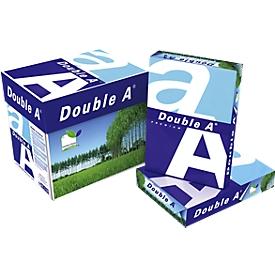 Kopieerpapier Double A, DIN A4, 80 g/m², zuiver wit, 1 doos = 5 x 500 vel