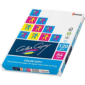 Kopieerpapier Mondi Color Copy, A4, 120 g/m², zuiver wit, 1 pak = 250 vellen