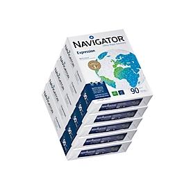 Kopieerpapier Navigator Expression, A4, 90 g/m², helderwit, 1 doos = 5 x 500 vellen