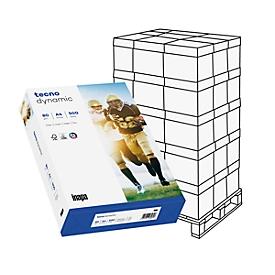 Kopieerpapier tecno dynamic, DIN A4, 80 g/m², staand wit, 1 pallet = 1000 vellen