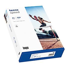 Kopieerpapier tecno speed, DIN A4, 75 g/m², zuiver wit, 1 doos = 10 x 500 vel
