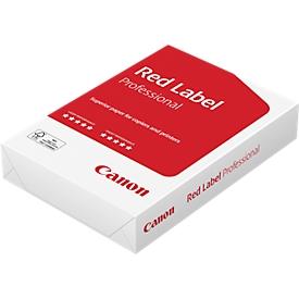 Kopierpapier Canon Red Label Professional, DIN A4, 80 g/m², hochweiß, 1 Paket = 500 Blatt