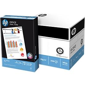 Kopierpapier Hewlett Packard Office, DIN A4, 80 g/m², weiß, 1 Karton = 5 x 500 Blatt