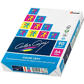 Kopierpapier Mondi Color Copy, DIN A4, 90 g/m², reinweiß, 1 Paket = 500 Blatt