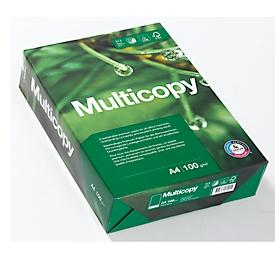 Kopierpapier MultiCopy, DIN A4, 100 g/m², hochweiß, 1 Paket = 500 Blatt