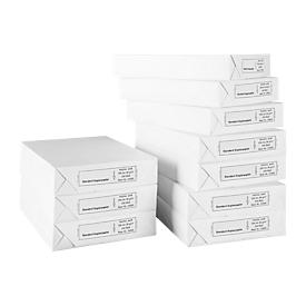Kopierpapier Standard, DIN A4, 80 g/m², weiß, 1 Karton = 10 x 500 Blatt