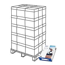 Kopierpapier tecno premium, DIN A4, 80 g/m², hochweiß, 1 Palette = 200 x 500 Blatt