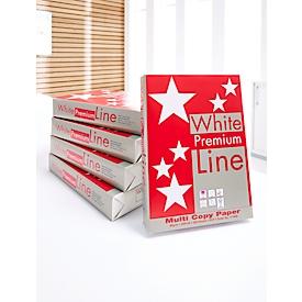 Kopierpapier White Premium Line, DIN A4, 80 g/m², hochweiß, 1 Palette = 200 x 500 Blatt