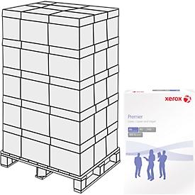 Kopierpapier Xerox Premier ECF, DIN A4, 80 g/m², reinweiß, 1 Palette = 240 x 500 Blatt