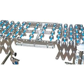 Koppelstuk voor flexibele rollenbaan, baanbreedte 500 mm