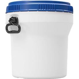 Kunststofffass CurTec, mit Schraubdeckel, HDPE, nestbar, wasserdicht, 30 l