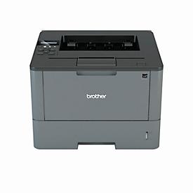 Laserdrucker Brother HL-L5200DW, Schwarzweiß-Drucker, WLAN, 40 Seiten/Minute
