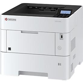 Laserdrucker Kyocera ECOSYS P3155dn, schwarz-weiß, netzwerkfähig, Duplex, A4, klimaneutraler Toner, weiß