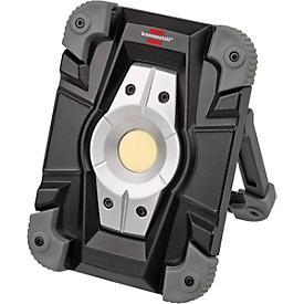 LED bouwstraler Brennenstuhl ML CA110M, 10 W, 1000 lm, 2 lichtsterktes, 4400 mAh accu, USB, IP54