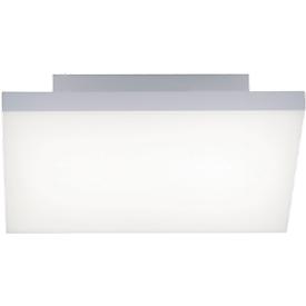 LED-Deckenleuchte FRAMELESS, weiß, Lichtfarbe einstellb., Fernsteuerung, 25-45W, Quadrat, B300xT300