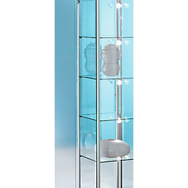Led-railverlichting voor BST vitrines met Forum-vitrines, 5 spots, 5x 4,5 W power-leds