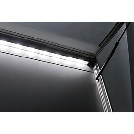 LED-verlichting voor vitrines WSM, 39 W, L 1305 mm, neutraal wit, voor binnen- en buitengebruik.