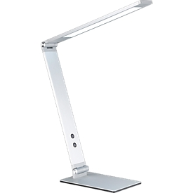 Ledbureaulamp Geri, van aluminium, 3-voudig dimbaar, levensduur ca. 30.000 uur, naturel