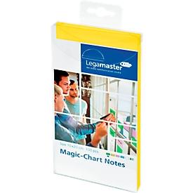Legamaster Magic-Chart Notes, 7-159 Serie, 100 x 200 mm, 100 Stück, gelb