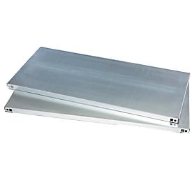 Legborden 2 stuks, 950 x 500 mm, tot 50 kg