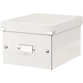 LEITZ® archief- en transportbox serie Click + Store, klein, voor A5, wit
