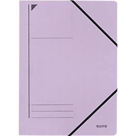 LEITZ® Eckspannmappe, DIN A4, Gummizugverschluss, violett