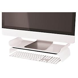 LEITZ® Ergo WOW monitorstandaard, ergonomisch, voor monitoren tot 27