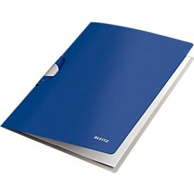 LEITZ® klemmap Style ColorClip, met clip, titaniumblauw