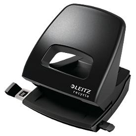 Leitz® Locher 5003  Recycle, für bis zu 30 Blatt, NeXXt-Technologie, ergonomische Griffmulde