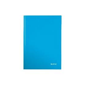 LEITZ Notizbuch WOW 4628, DIN A5, kariert, blau