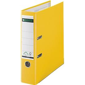 LEITZ® ordner 1010, A4, rugbreedte 80 mm, geel