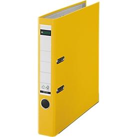 LEITZ® Ordner 1015, DIN A4, Rückenbreite 52 mm, gelb