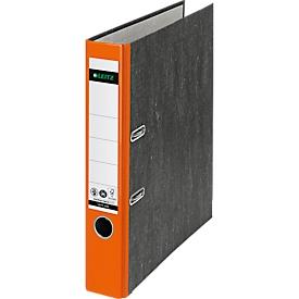 LEITZ® ordner 1050, A4, rugbreedte 52 mm, 20 stuks, oranje