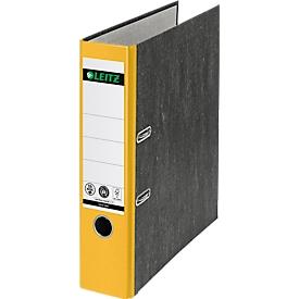 LEITZ® Ordner 1080, DIN A4, Rückenbreite 80 mm, 20 Stück, gelb