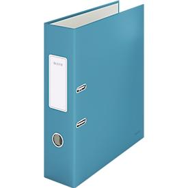 Leitz® Ordner 180° Cosy, A4, 180°-Präzisionsmechanik, Schreibschild & Griffloch, Rückenbreite 80 mm, blau