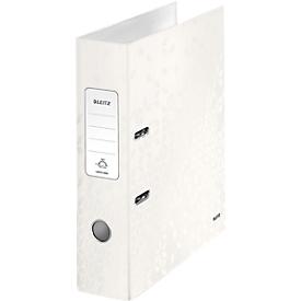 LEITZ® Ordner WOW 1005, DIN A4, Rückenbreite 80 mm, weiß