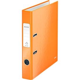 LEITZ® Ordner WOW 1006, DIN A4, Rückenbreite 50 mm, orange
