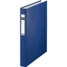 LEITZ® Ringbuch, DIN A4, 2-Ring-Mechanik, Rückenbreite 40 mm, blau