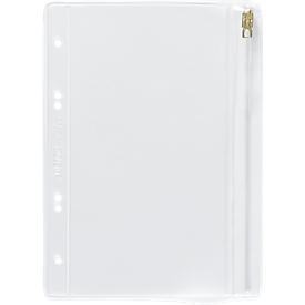 LEITZ Sammelbeutel, mit Gleitverschluss, PVC transparent, Format A5