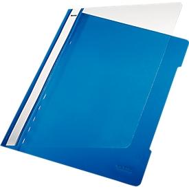 LEITZ® Schnellhefter 4191, DIN A4, PVC, 25 Stück, blau