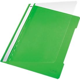 LEITZ® Schnellhefter 4191, DIN A4, PVC, 25 Stück, grün