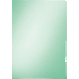 LEITZ® Sichthülle Premium 4100, DIN A4, glatt, 100 Stück, grün