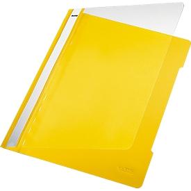 LEITZ® snelhechter 4191, A4, pvc, 25 stuks, geel